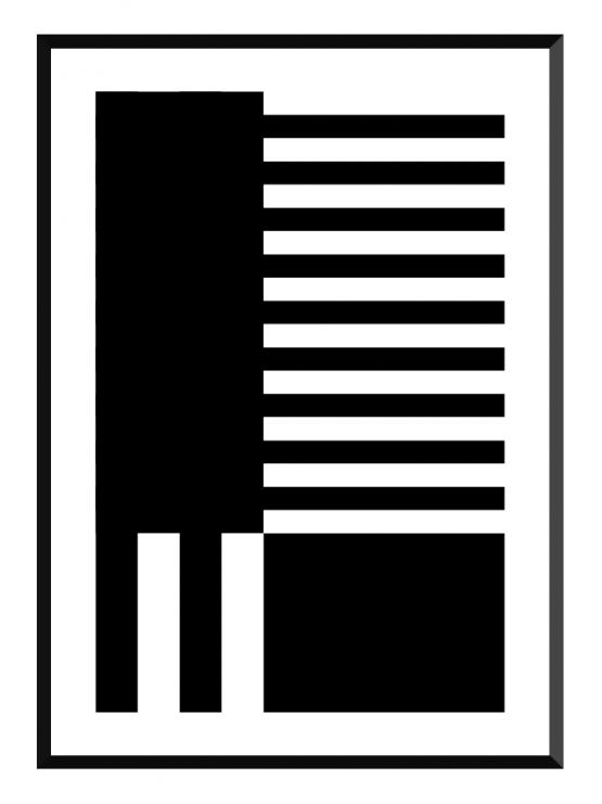 asymmetric poster