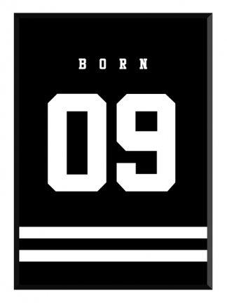 born poster glry