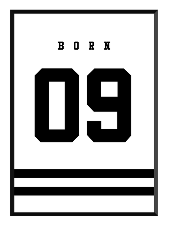 born white poster