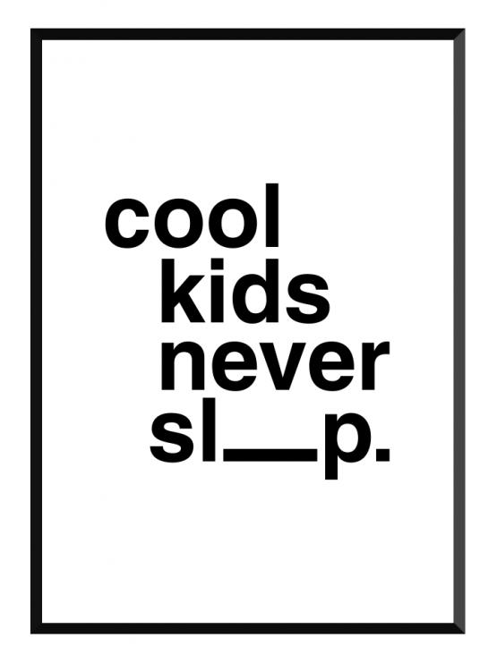cool kids poster