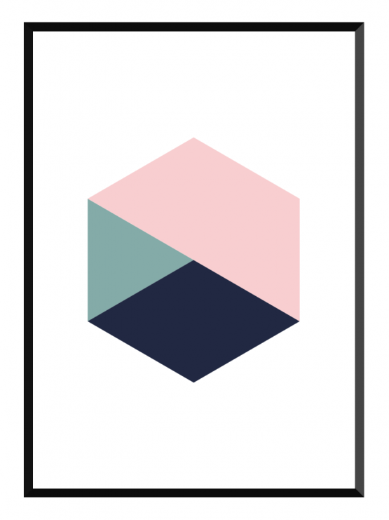 hexagon poster glry