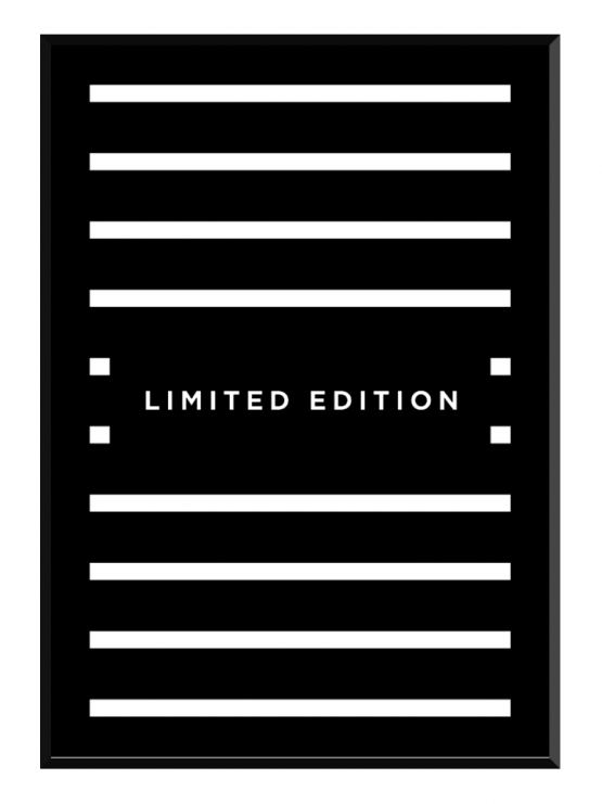 glry limited edition poster