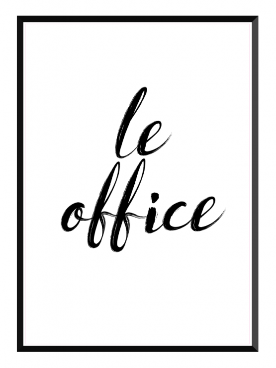 Le Office poster