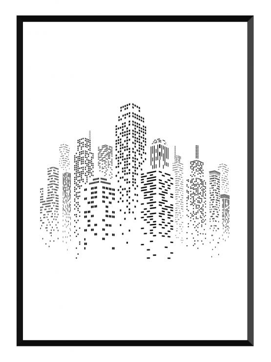 skyscraper poster glry