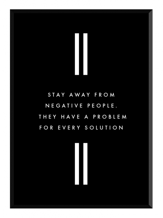 stay away poster