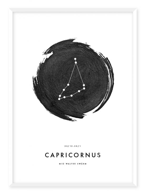 stjärntecken stenbocken poster