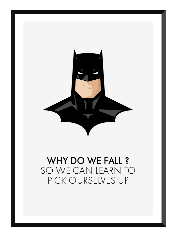 why we fall poster